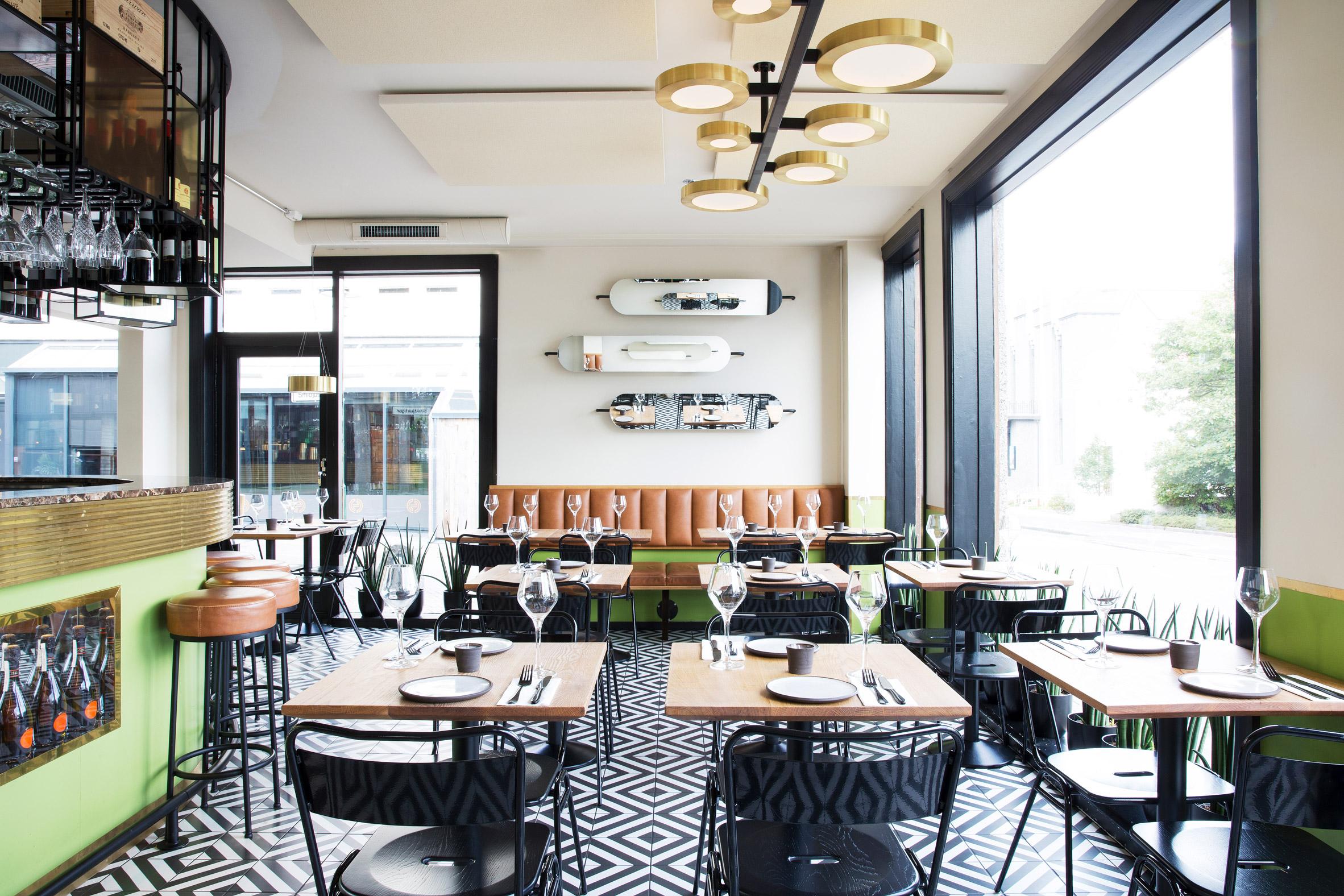 Haf Studio completes 1960s-styled restaurant in Reykjavík