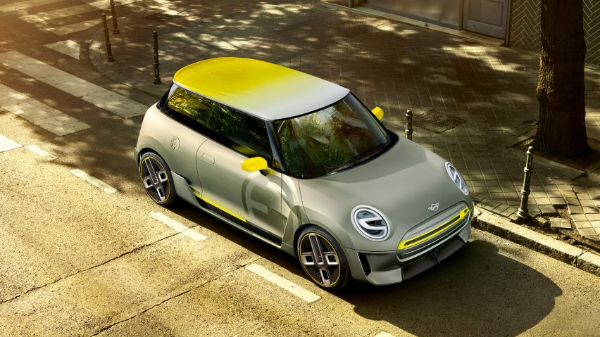 Mini unveils its first all electric concept at 2017 Frankfurt Motor Show