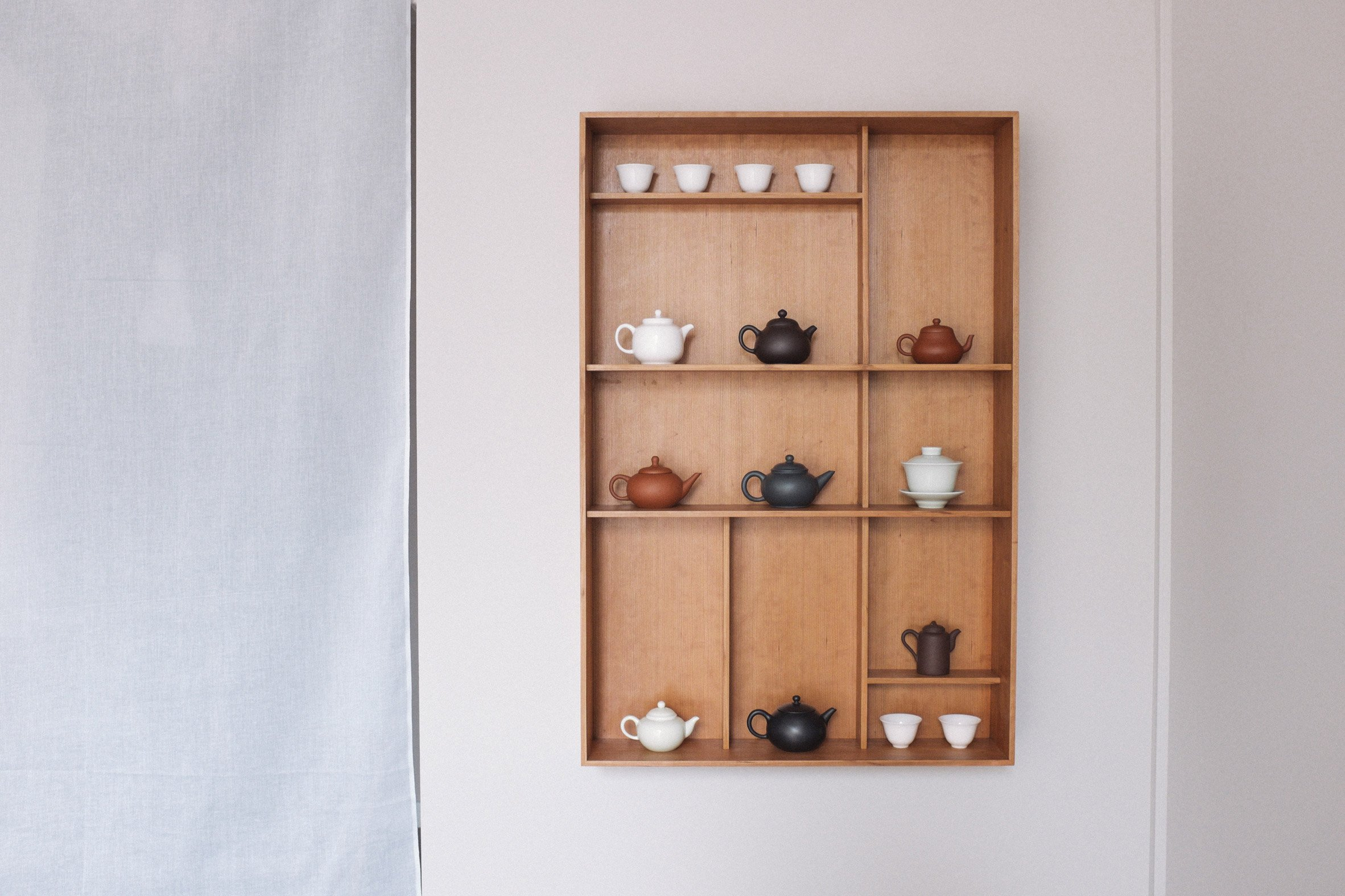 Native & Co designs clay Wu teapots to suit specific brews