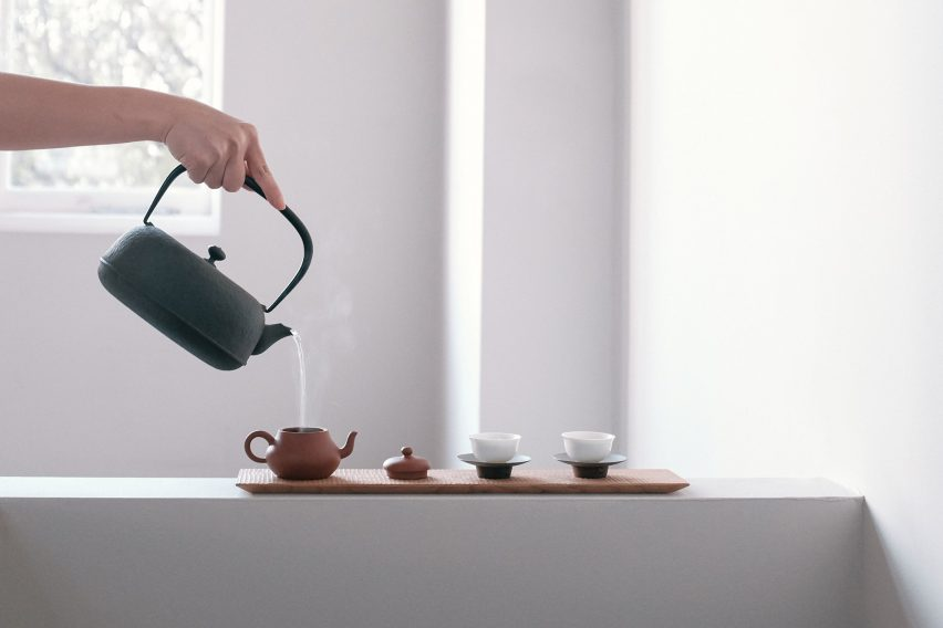 Wu tea set by Native & Co