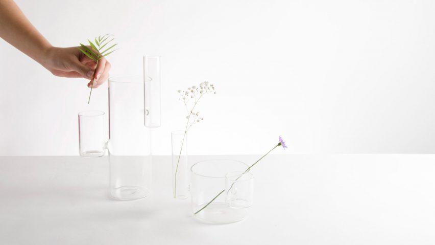 Organo vases by Moisés Hernández