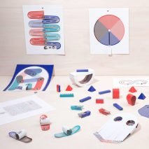 Marion Pinaffo and Raphaël Pluvinage design electronic toys that are made from paper printed on special ink