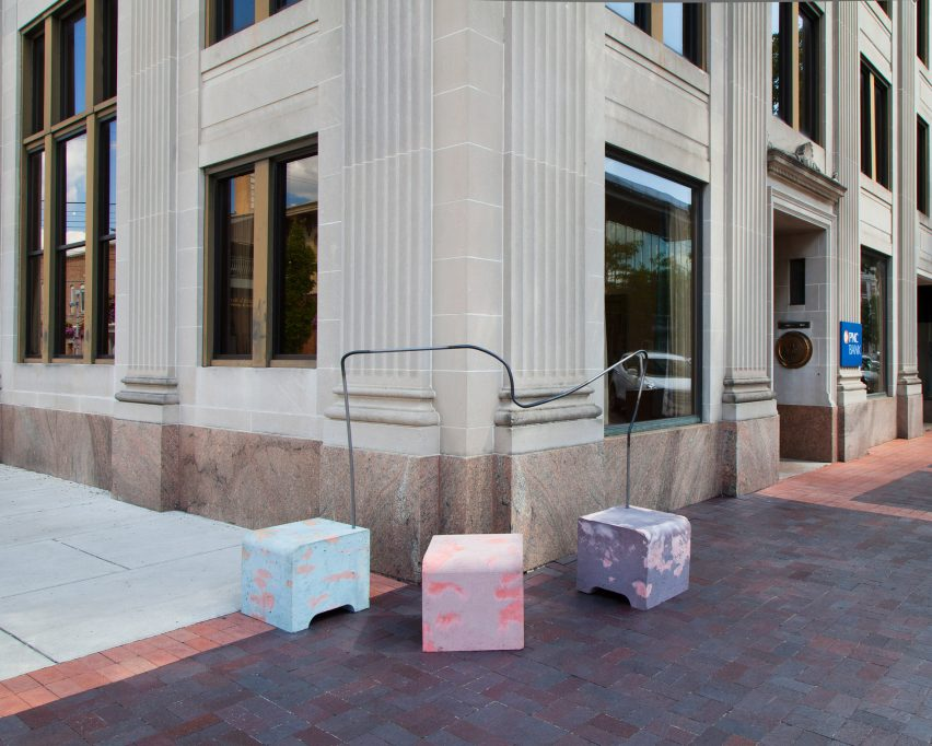 Pause by Pettersen & Hein for Washingston Street Installations by Exhibit Columbus