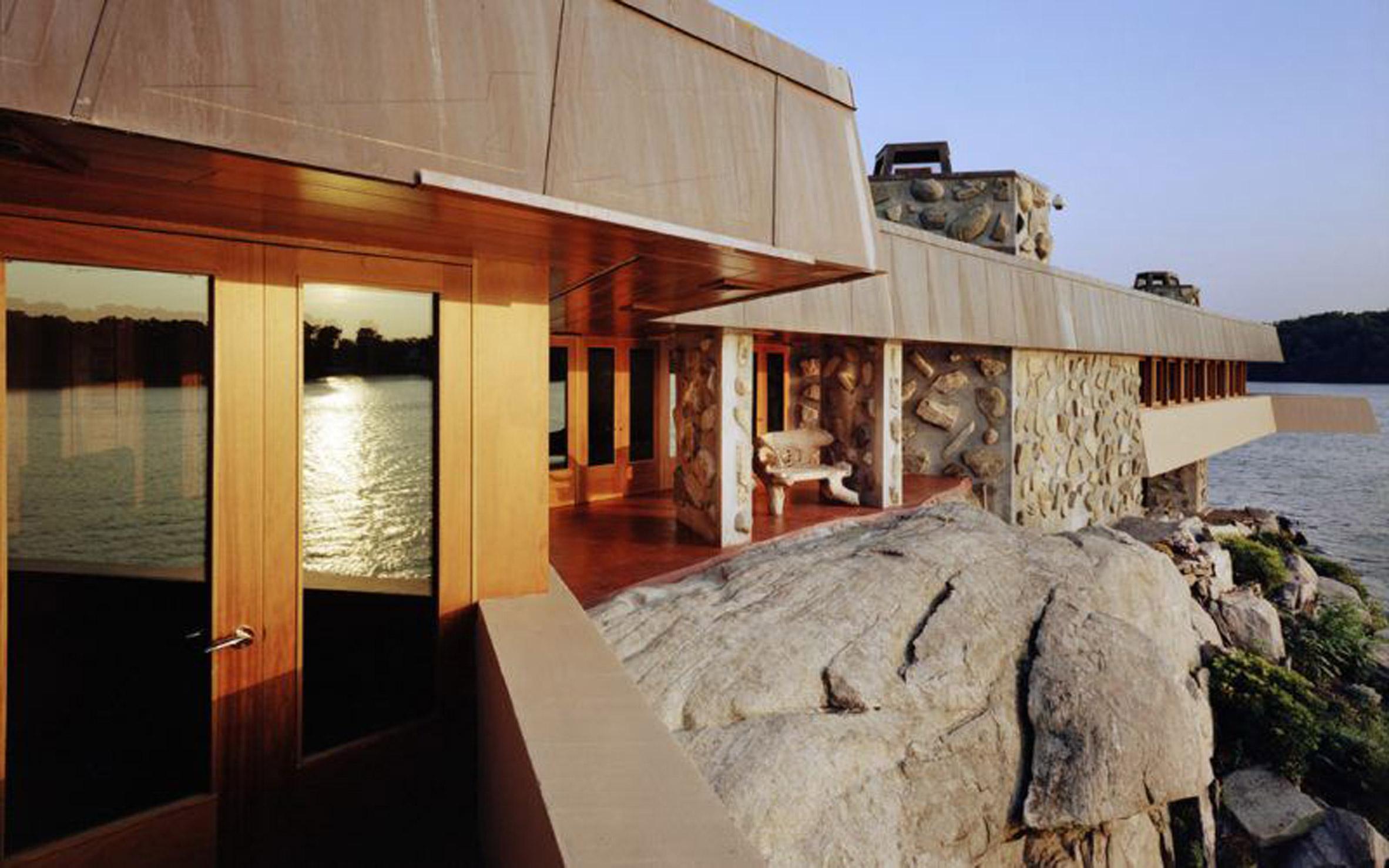 Petra Island by Frank Lloyd Wright