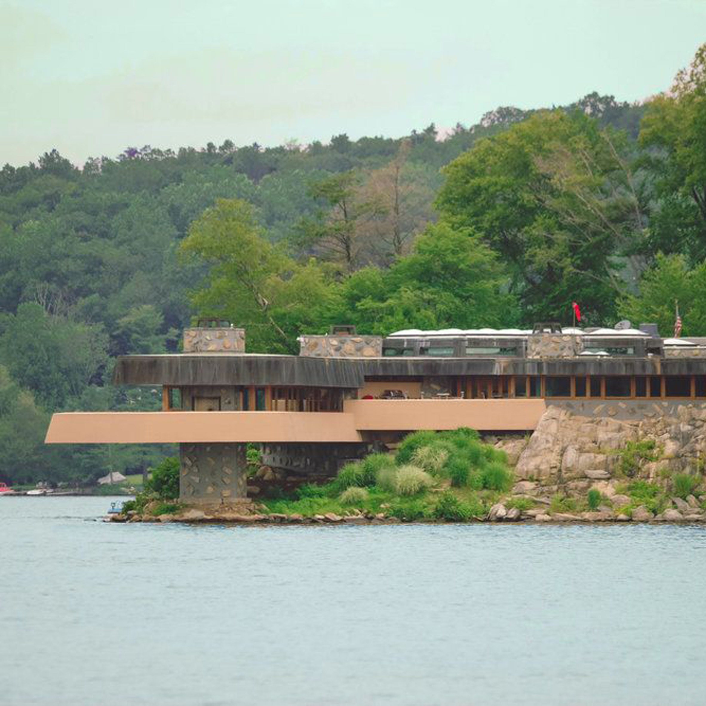Frank Lloyd Wright Designed Private Island On Sale For 14 9 Million