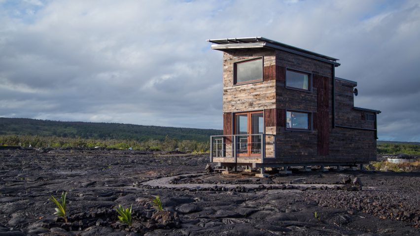 Phoenix House sits at the base of the world's most active volcano