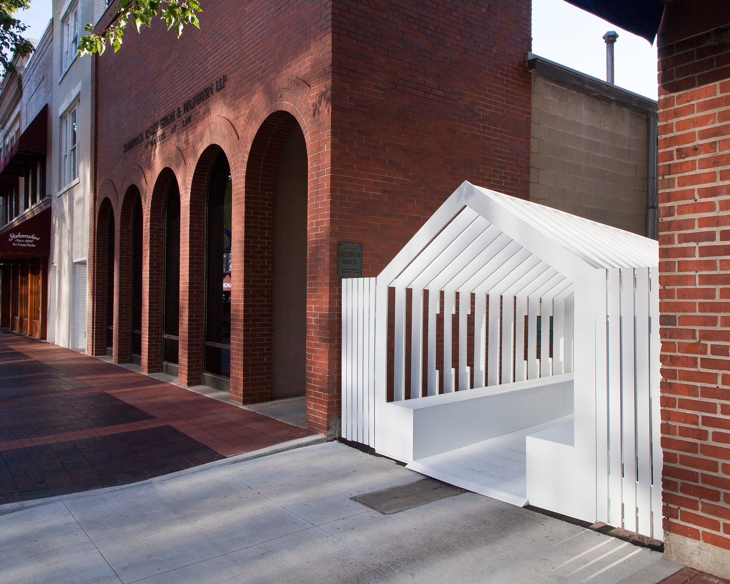 Snarkitecture and Formantasma create street installations for Exhibit Columbus