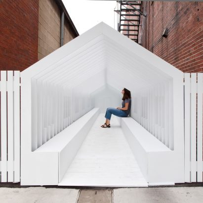 Playhouse by Snarkitecture for Washingston Street Installations by Exhibit Columbus