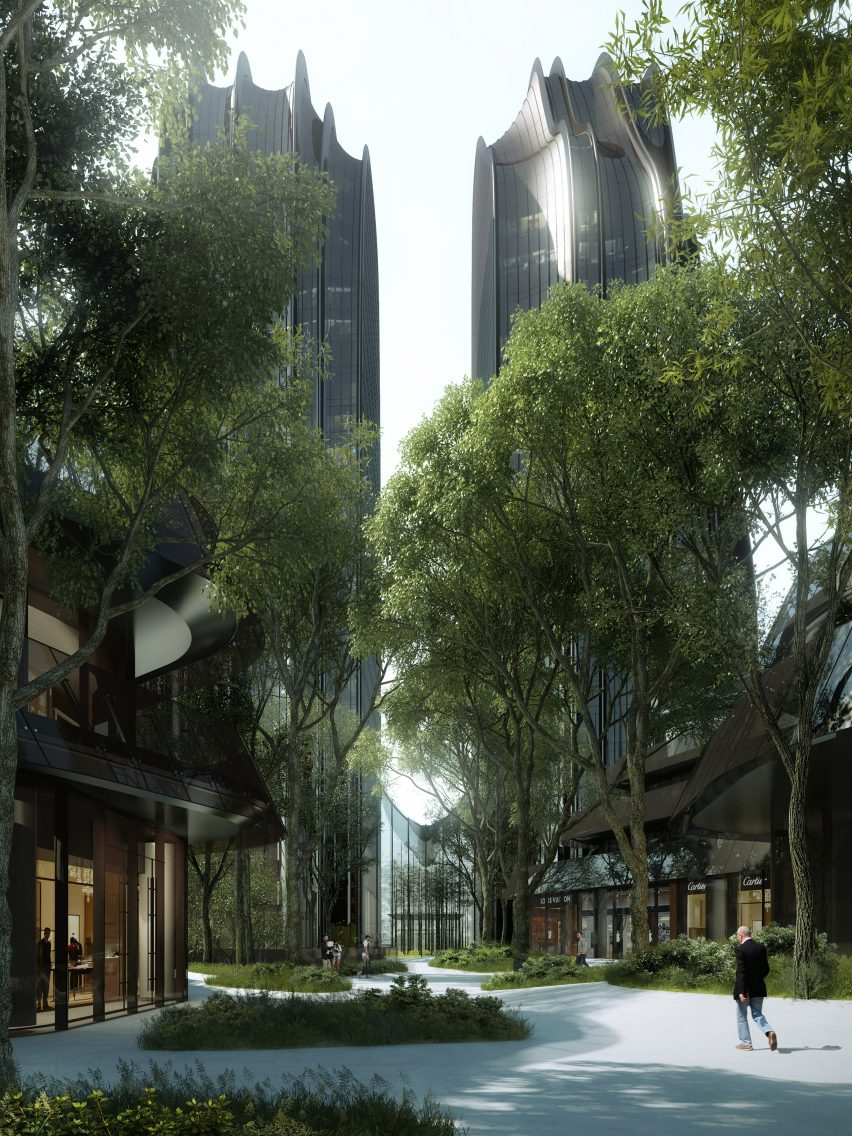 MAD Architects' Chaoyang Park Plaza