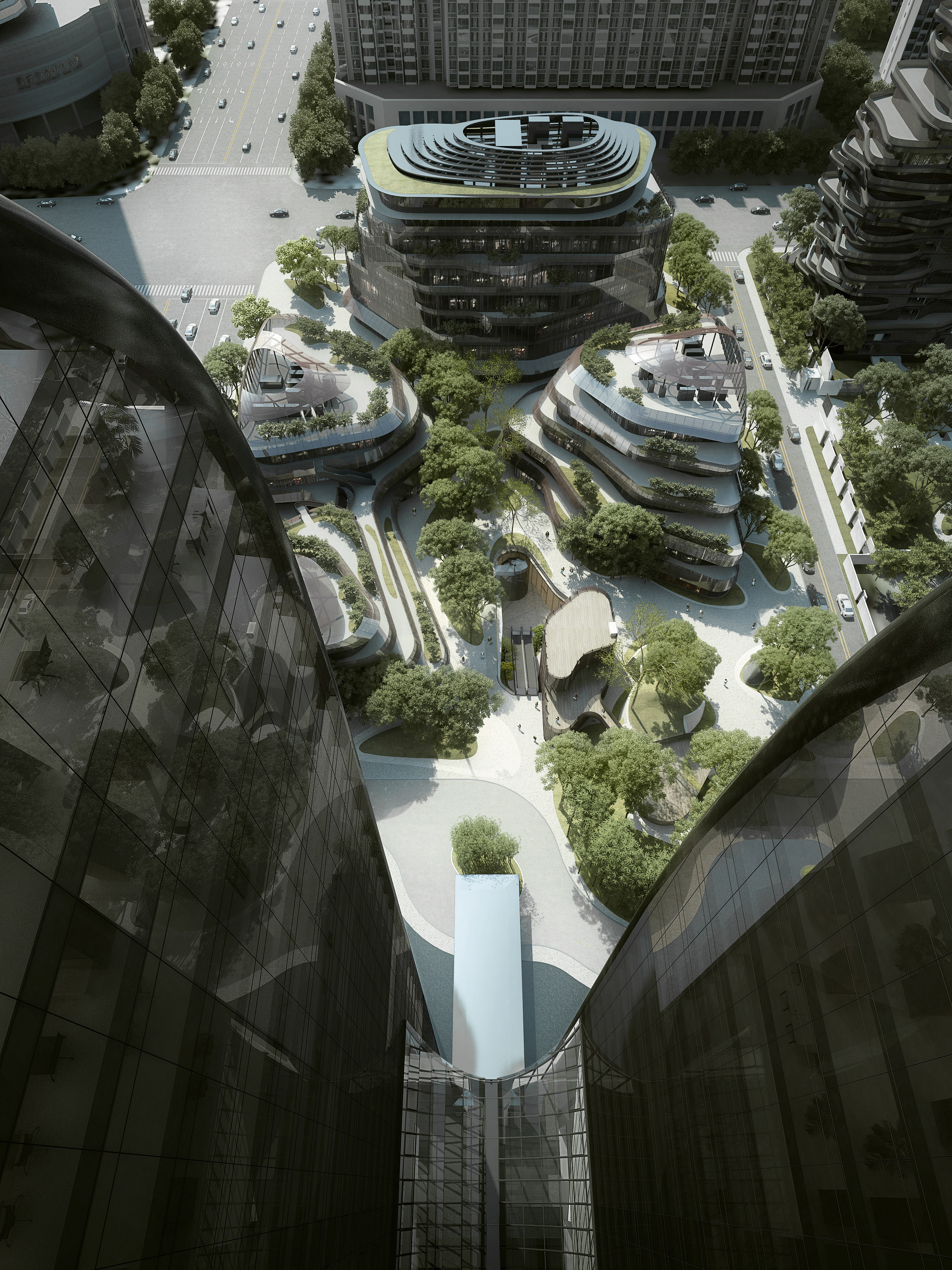 MAD Architects' Chaoyang Park Plaza