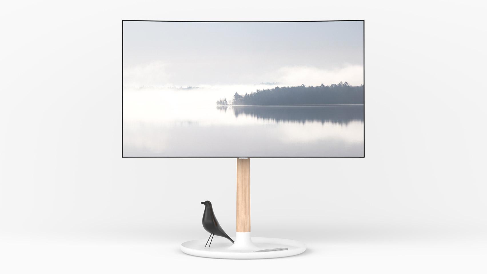 Finalists of Dezeen and Samsung's €30,000 TV stand design