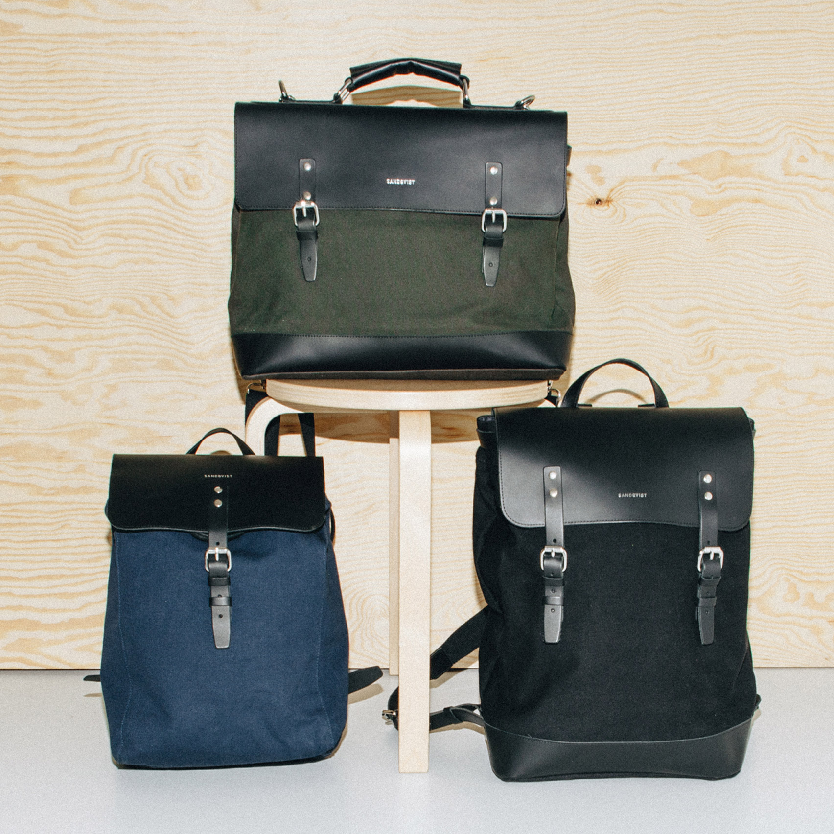 Competition: win a canvas and leather Sandqvist backpack