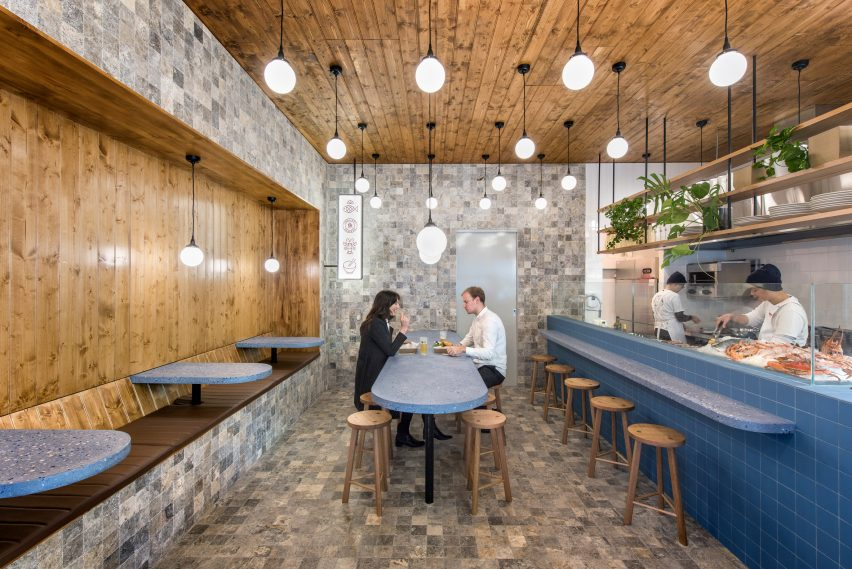Sans Arc Studio Updates Traditional Chip Shop Decor For Smallfry Seafood