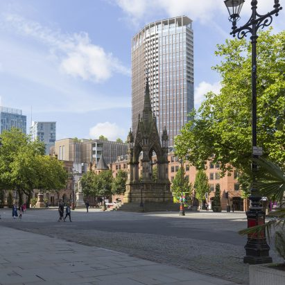Gary Neville And Ryan Giggs Reveal New Hodder + Partners Designed Tower For  Manchester