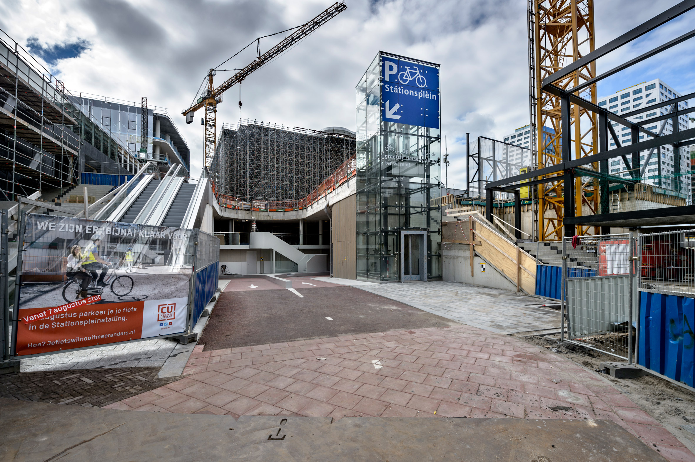 World's largest bicycle parking garage opens in Utrecht