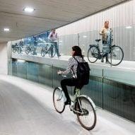 World's largest bicycle parking garage opens in Utrecht