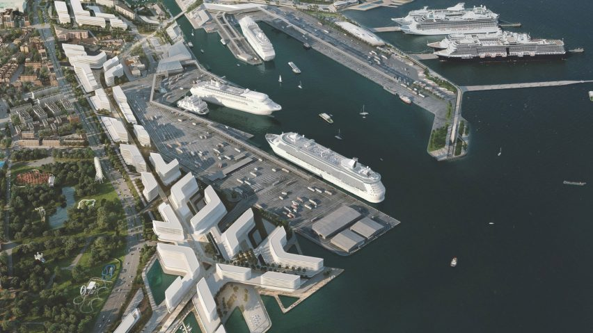 0b0430ae34b Zaha Hadid Architects wins Tallinn port contest