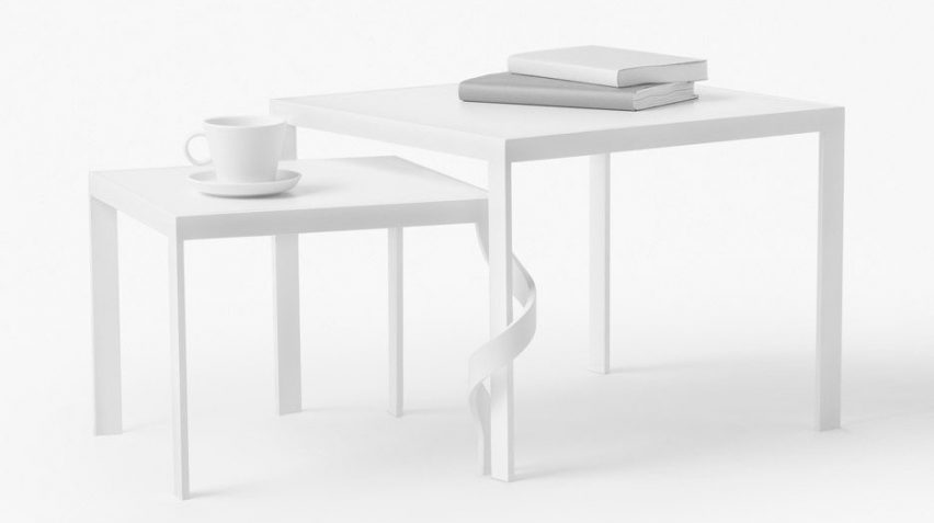 Nendo's Tangle table for Cappellini