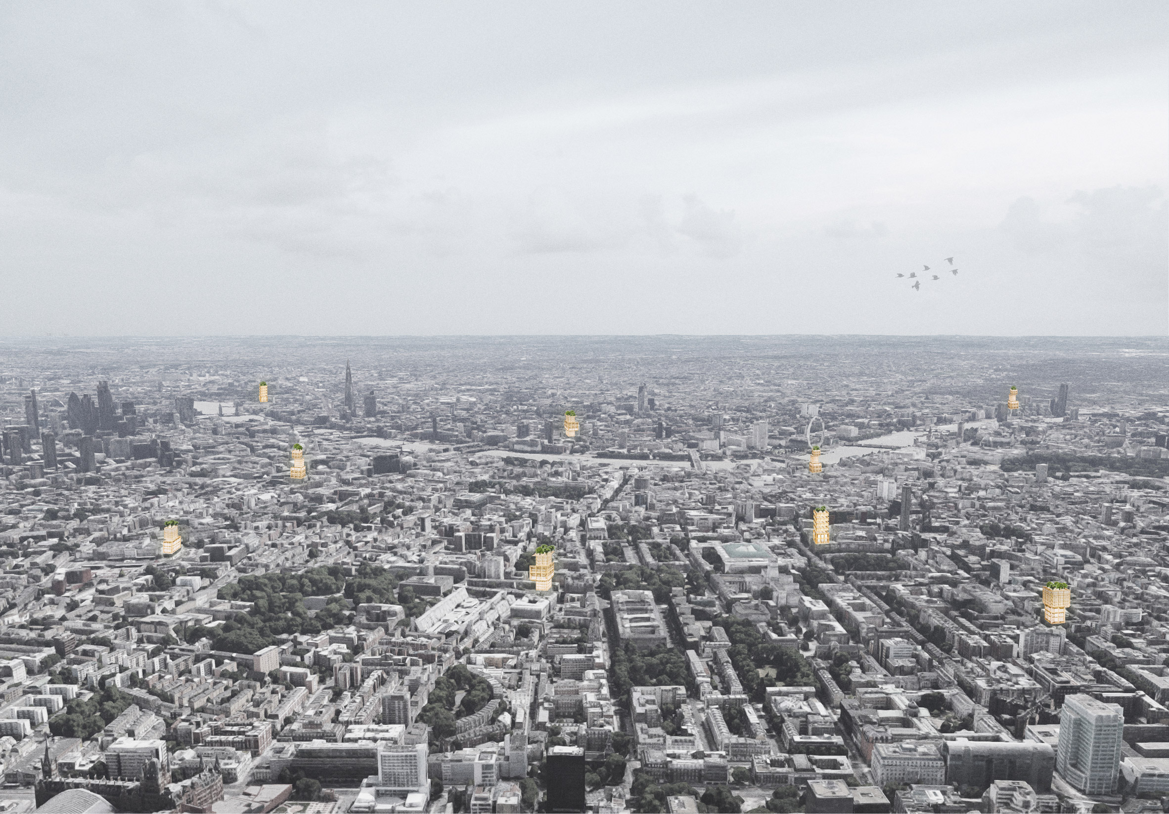 RCA Architecture graduate proposes affordable housing in Vertical Open City project