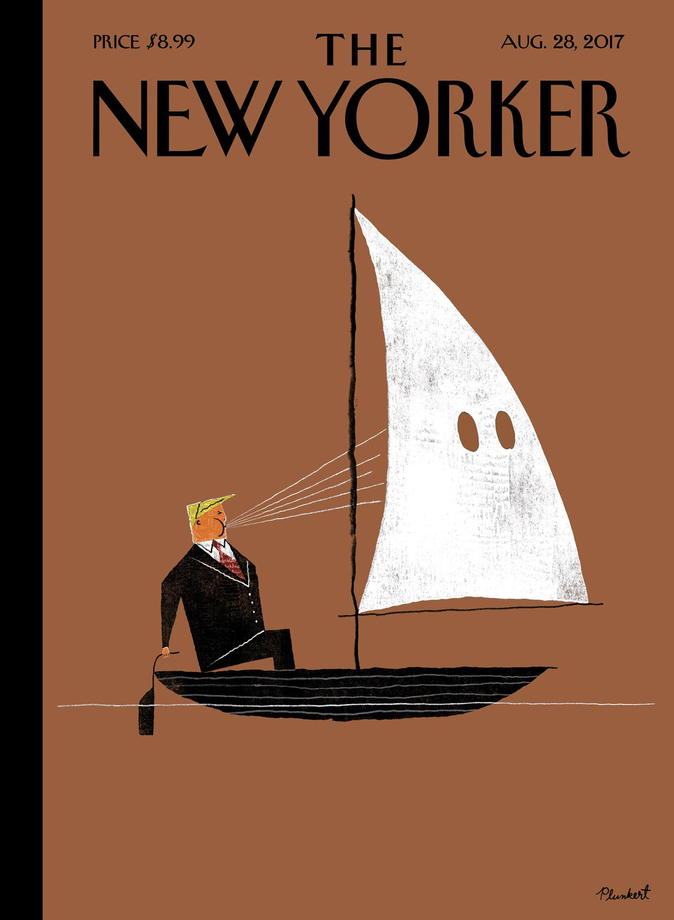 The New Yorker, Economist and Time reflect on rise of race hate in America with illustrated covers