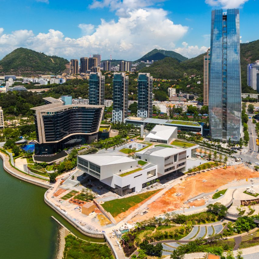 First photographs emerge of Fumihiko Maki's V&A-backed design museum in Shenzhen