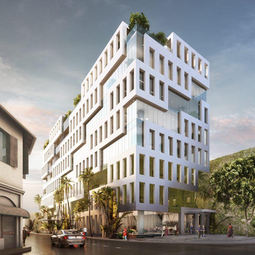 MVRDV architects design Veranda Offices in Colombo