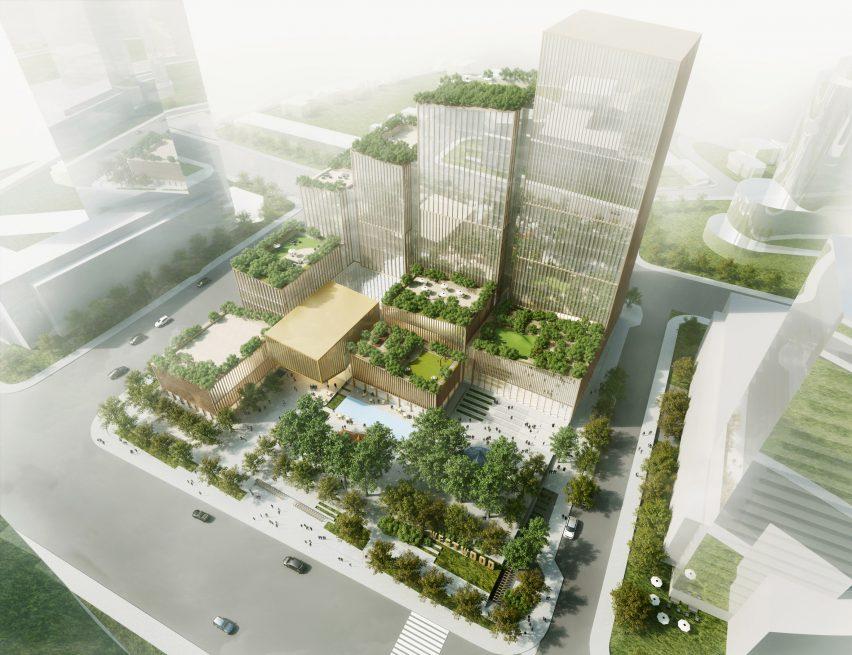 Henning Larsen's Etobicoke Civic Centre