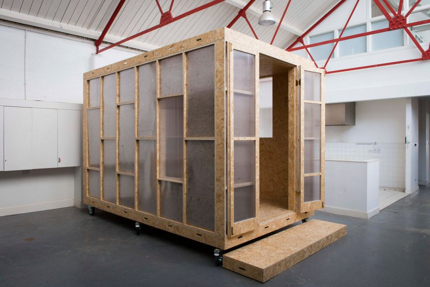 The Shed Project Offers Micro-Homes Inside Vacant London Properties