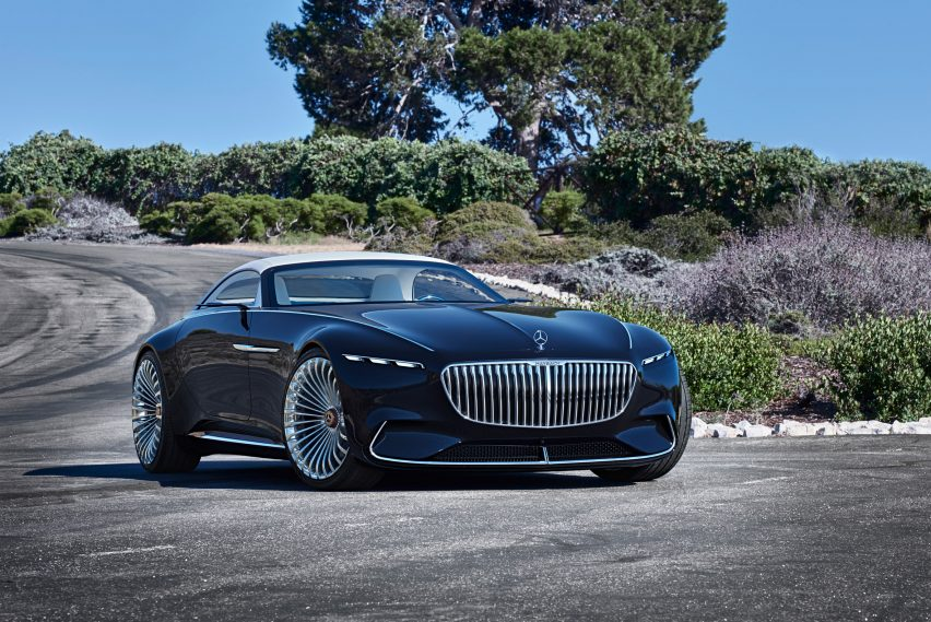 Mercedes Benz S Latest Concept Car Takes Its Design Cues From Art Deco