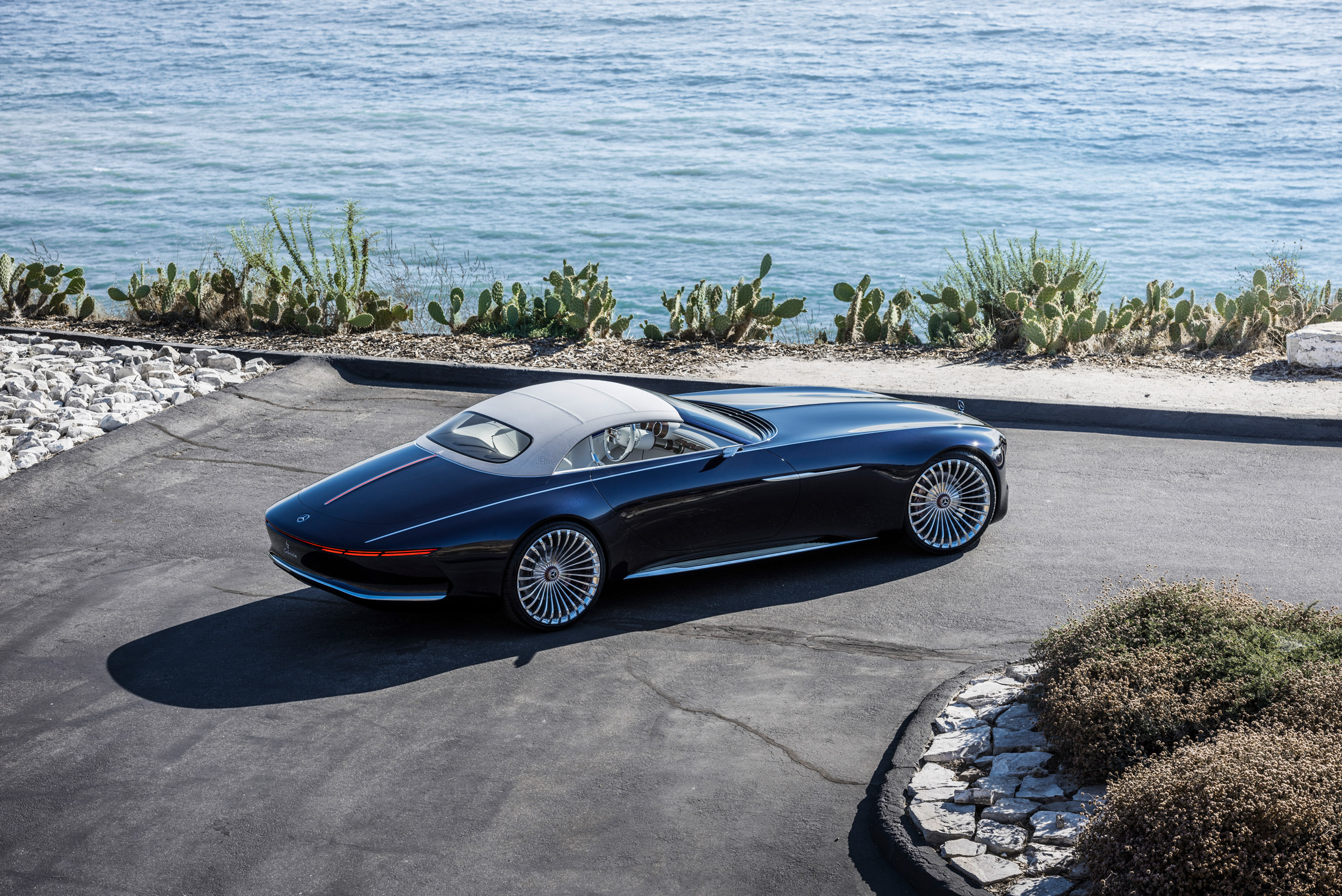 Mercedes-Benz's latest concept car takes its design cues from art deco