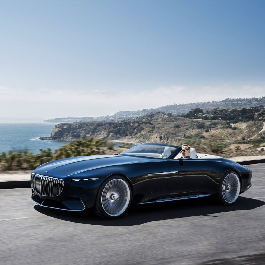 Mercedes benz 39 s latest concept car takes its design cues for Mercedes benz latest technology