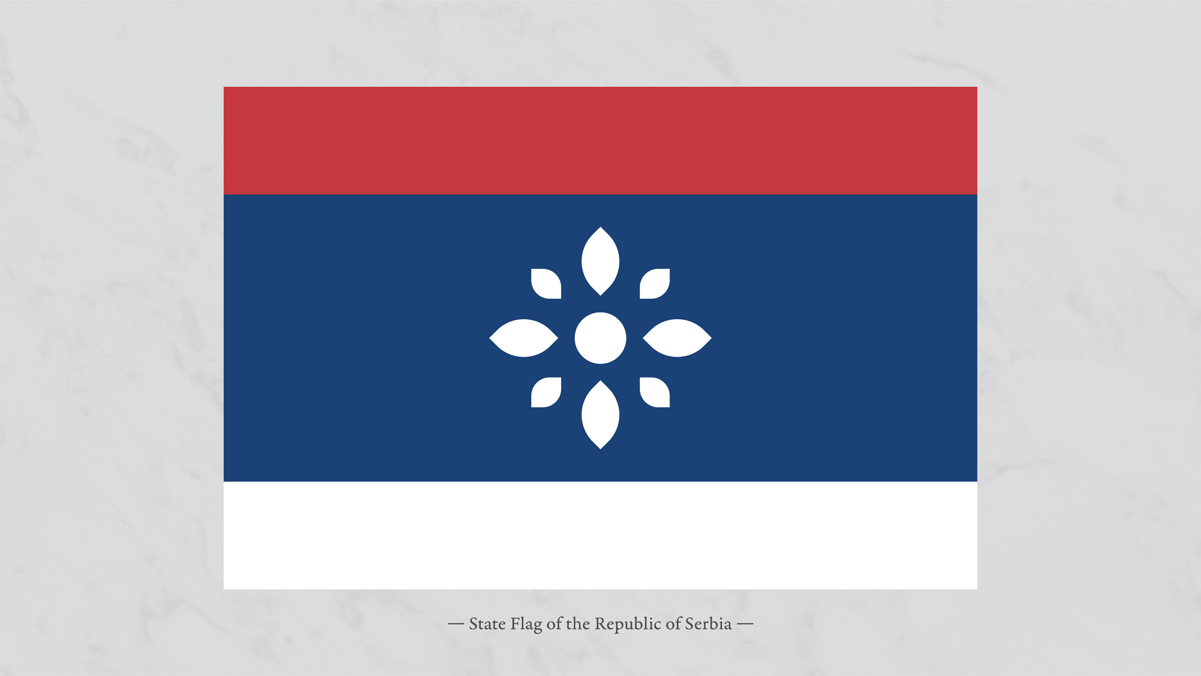 Vladan Pavlović gives Serbia a minimal rebrand that emphasises peace and tolerance