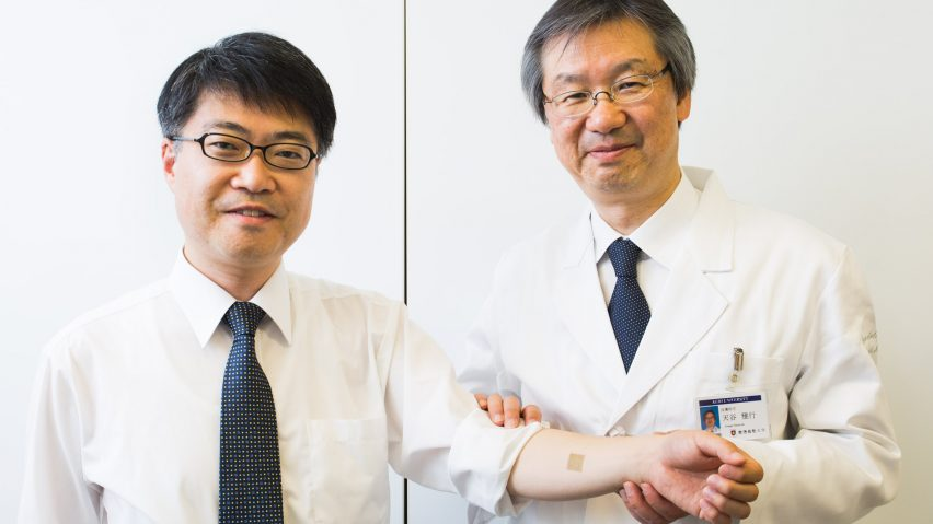 Wearable electronics developed by the University of Tokyo