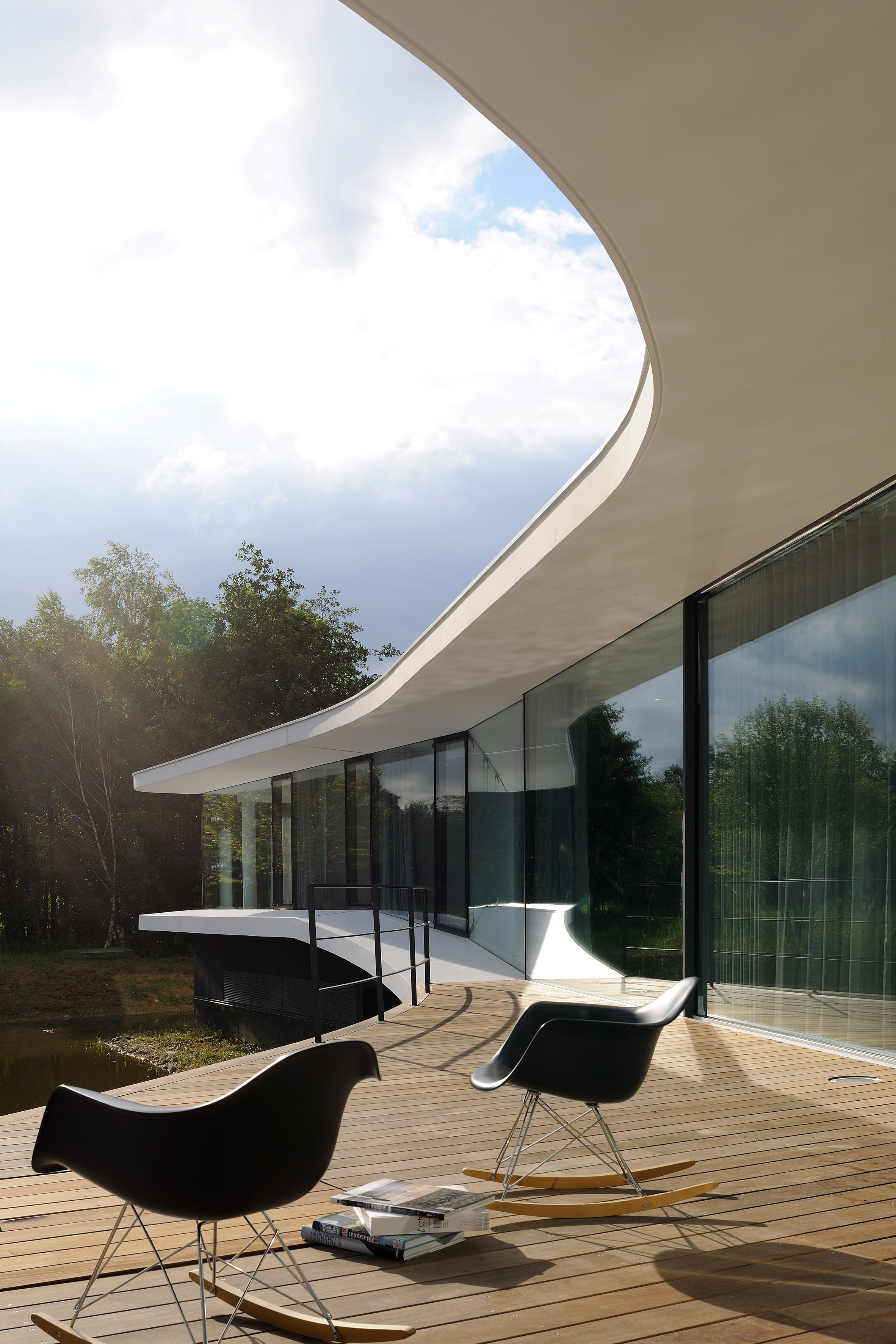 White Snake House by AUM