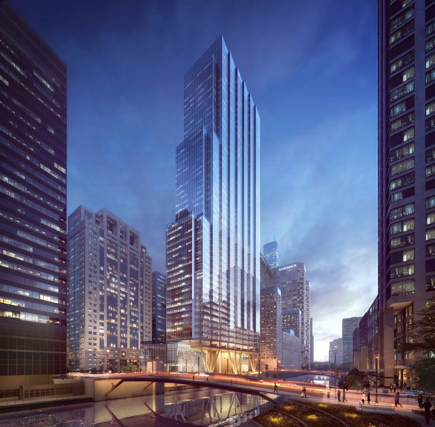 110 North Wacker by Goettsch Partners