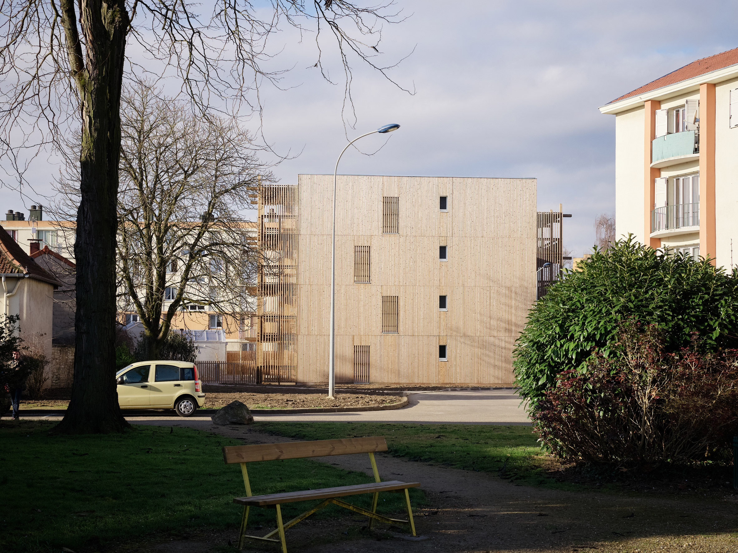 26 Social Housing by Odile and Guzy Architectes