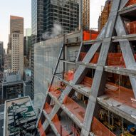 "Jean Nouvel's 53W53 ""MoMA tower"" progress shown in photographs"