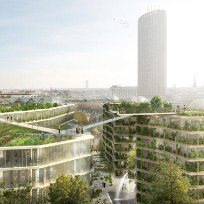 Ternes-Villiers, La Ville Multi-Strate by Jacques Ferrier Architectures, Chartier Dalix Architectes, SLA Paysagistes