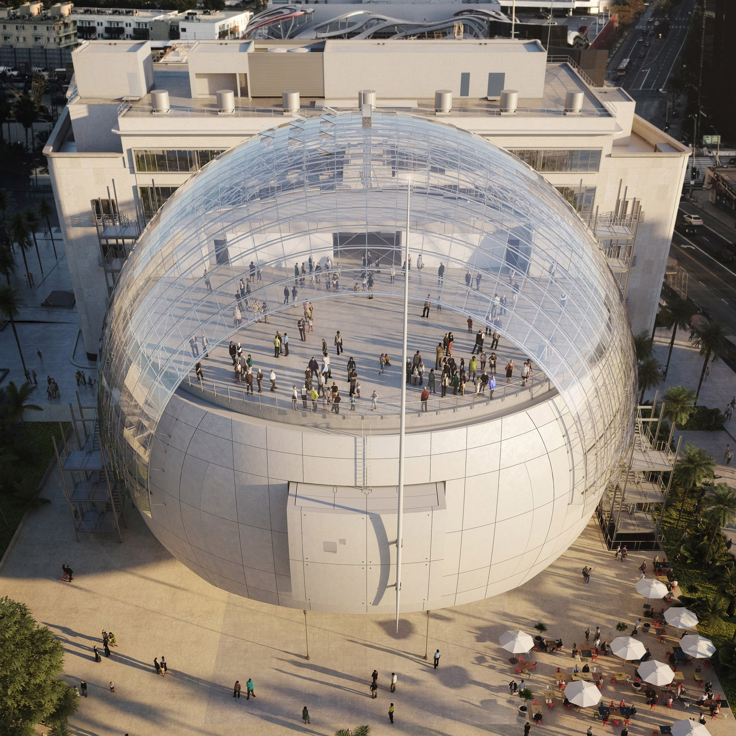 New images show renzo piano 39 s academy museum of motion for La architecture