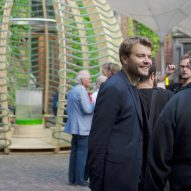 Space10 creates an algae-producing pavilion in Copenhagen