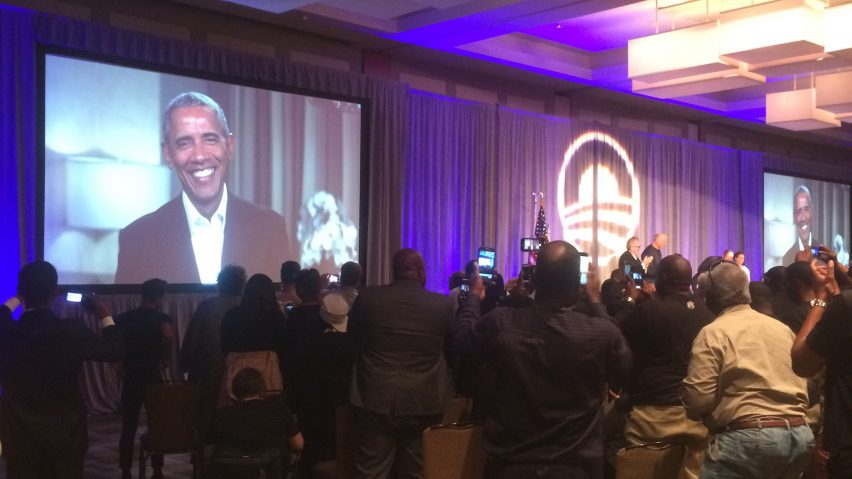 Obama calls on top architecture and tech firms to support