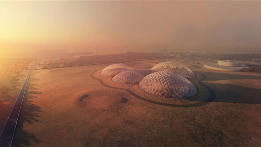 UAE Is Building a Giant Fake Mars City in the Desert