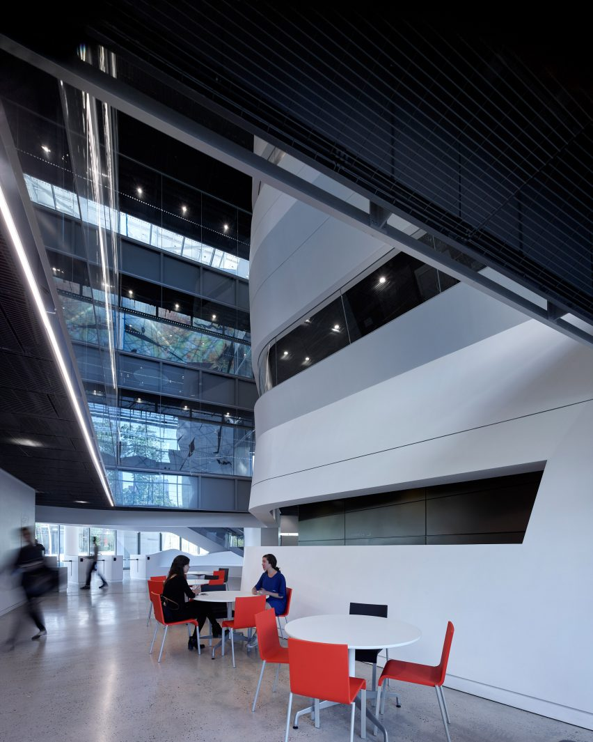 The Bloomberg Center at Cornell Tech Campus by Morphosis
