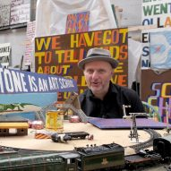 "English seaside towns will transform ""like Brooklyn"" says artist Bob and Roberta Smith"