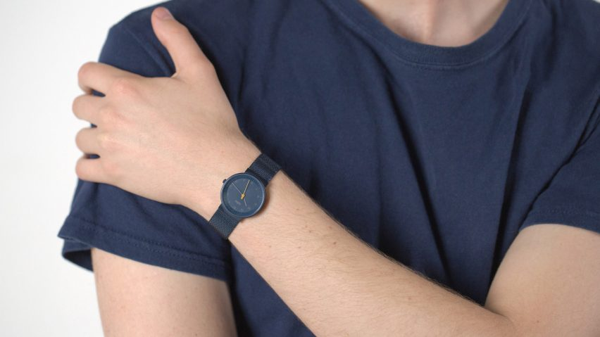 Braun and Dezeen limited edition watch.