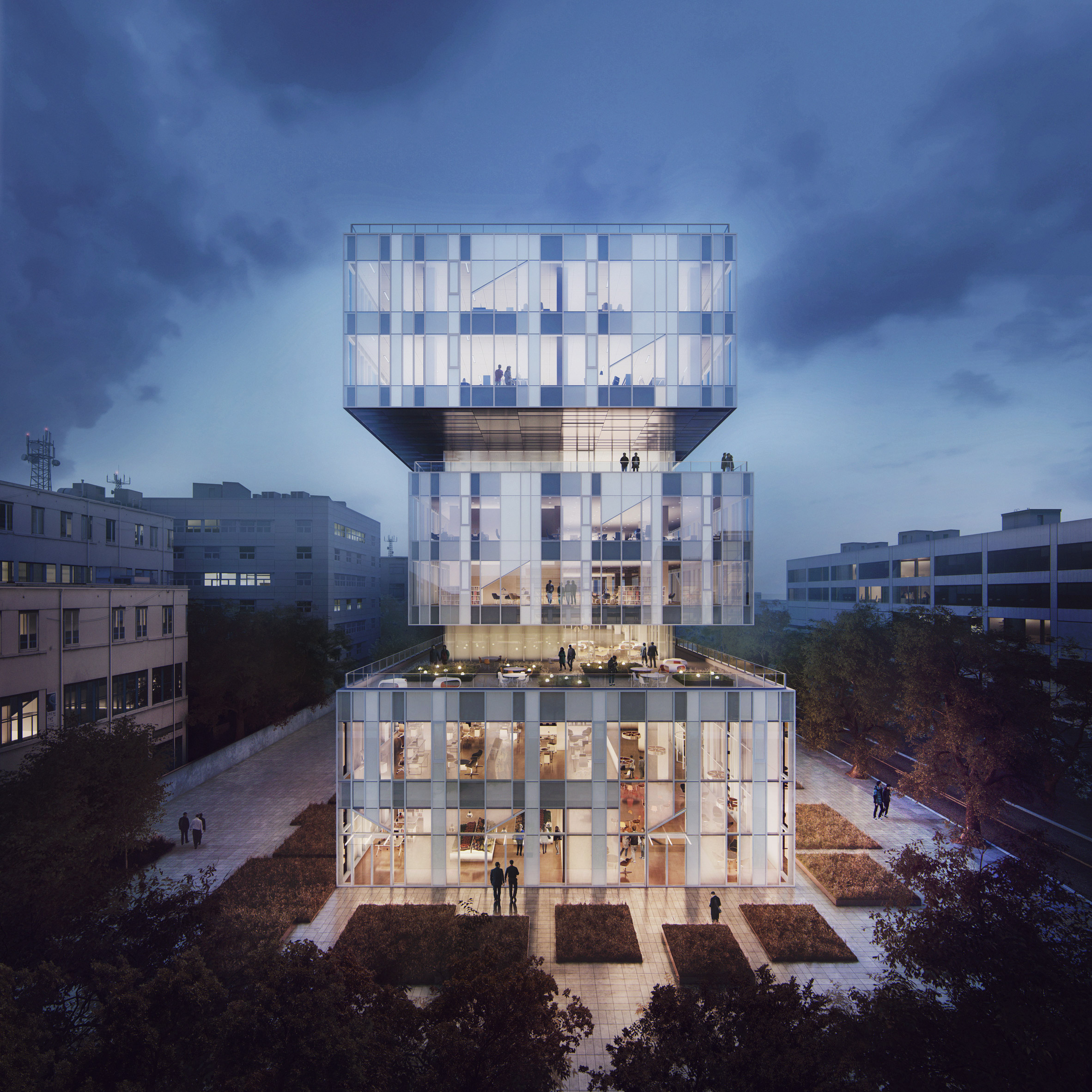 Work starts on Schmidt Hammer Lassen-designed innovation centre adapted to Shanghai's extreme weather