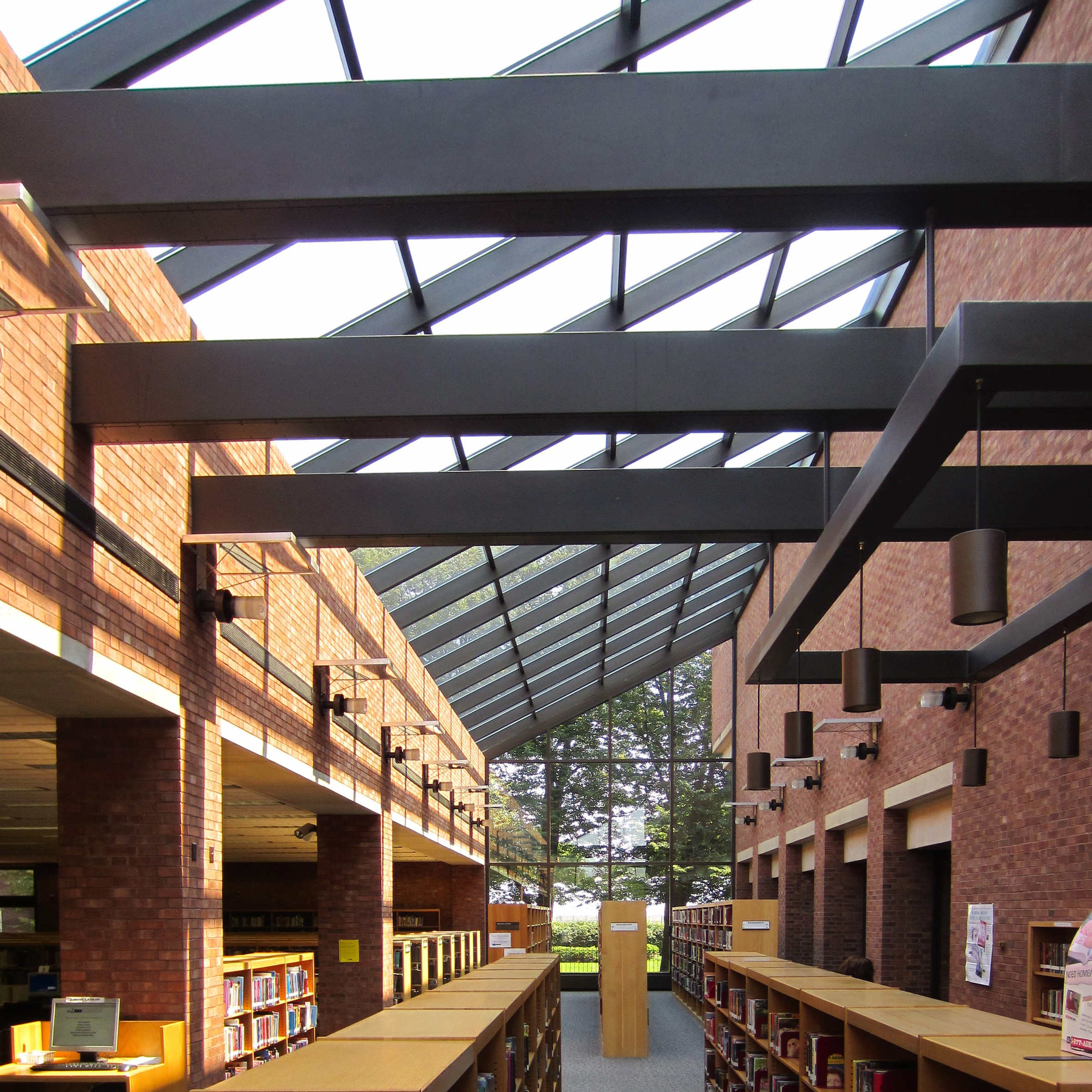 Cleo Rogers Memorial Library by IM Pei, 1969