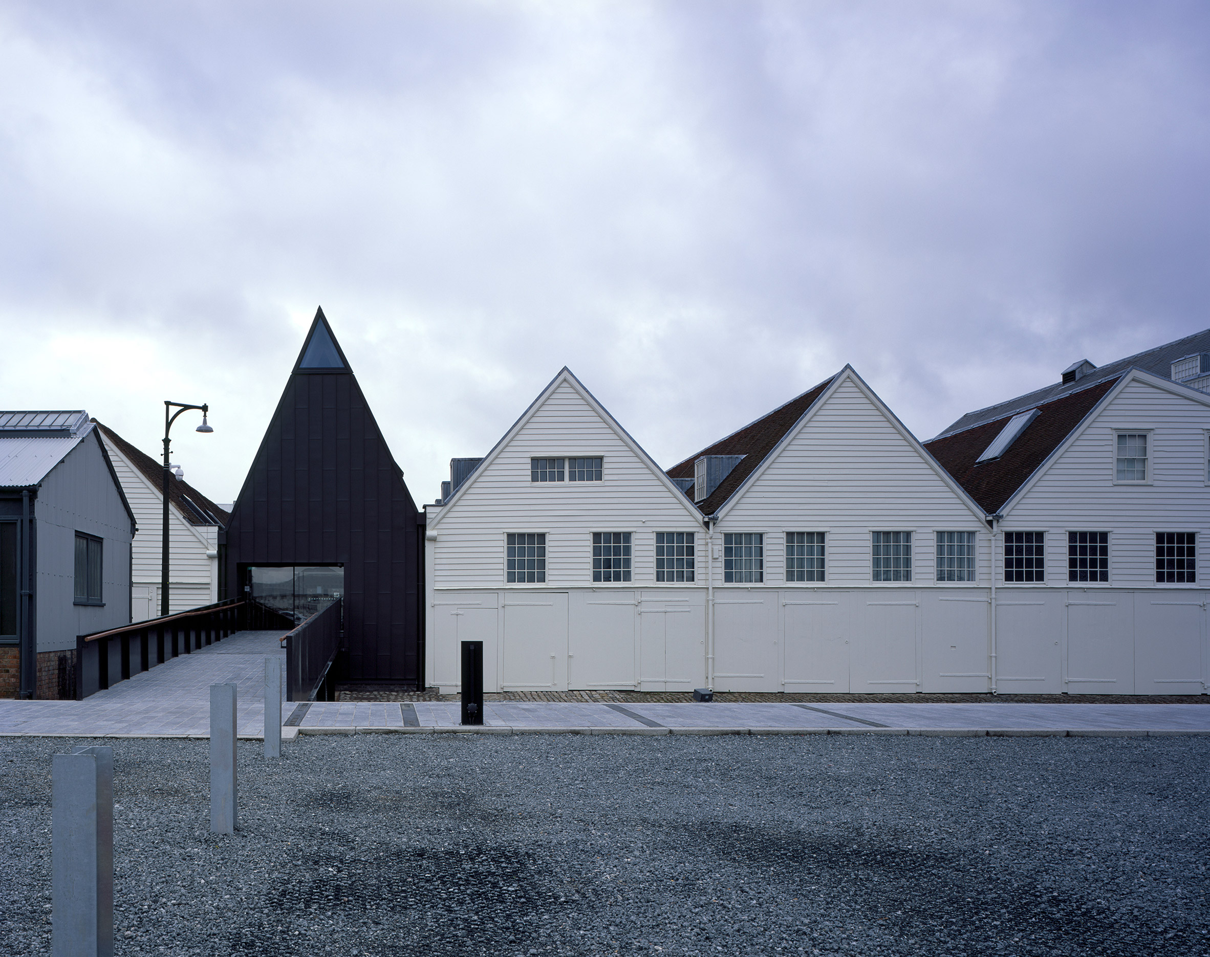 Baynes and Mitchell creates museum complex within historic buildings of Chatham Dockyard