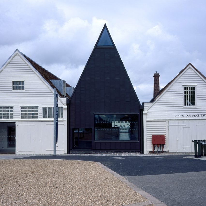 London office Baynes and Mitchell Architects was employed by Historic Dockyard Chatham to oversee the development of a series of galleries at its site on the River Medway in Kent.