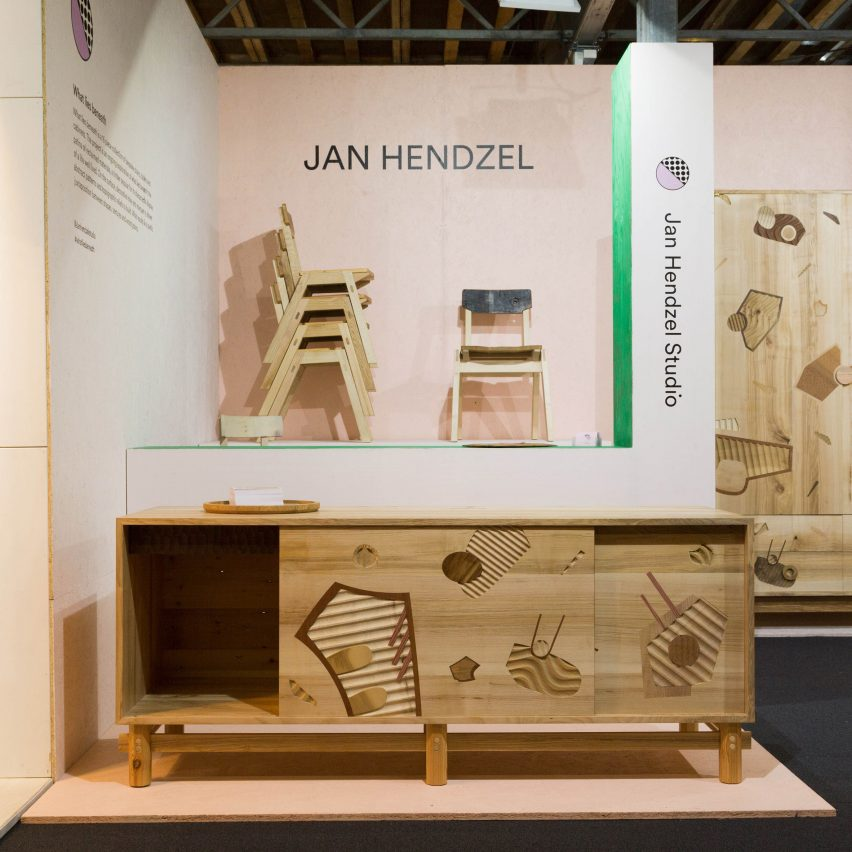 What Lies Beneath by Jan Hendzel Studio. Best new furniture and lighting designs from London Design Festival